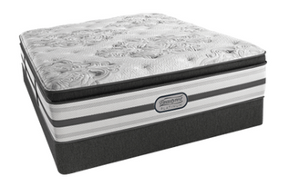 Simmons 174 Beautyrest 174 Platinum Gabriella Plush Pillow Top