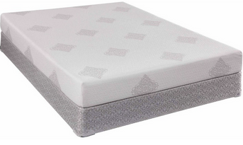"""Doesn't get much better than the comfort and price of the Sealy Ocean Pointe 8"""" Gel Memory Foam Mattress set."""