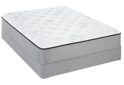 One of the more affordable options that carries a brand name at our company. Visit a locally owned Mattress By Appointment location near you for options and prices on the Sealy Abbeywood Cushion Firm mattress.