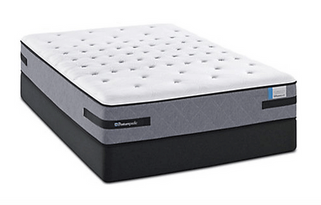 Sealy Posturpedic Lummis Castle Firm mattress reviews serve to give this product a little more justice. This is a great mattress for someone looking for a firm mattress. Great quality and comfort and ultra supportive for a good night sleep.