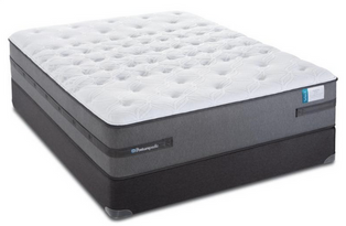 Sealy Posturpedic Fleurs Castle Cushion Firm on sale and mattress reviews available online with no sales tax, free shipping and handling, full factory warranty. You will get the most mattress for your money at Mattress By Appointment.