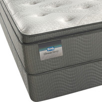 Simmons BeautySleep Andros Island Luxury Firm Pillow Top Queen & King Mattress Sale.