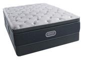 Simmons BeautyRest Silver - Comfort Grey Plush Pillow Top / Charcoal Coast Plush Pillow Top