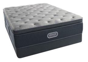 Simmons BeautyRest Silver Charcoal Coast Luxury Firm Pillow Top Mattress Sale