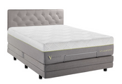 "Malouf - Wellsville 14"" Latex Hybrid Mattress"