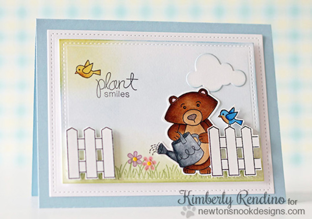 "Bear ""Plant Smiles"" Card 