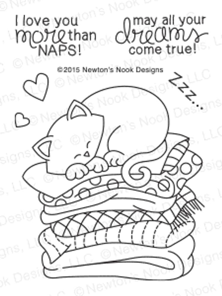Newton's Naptime   3x4 Photopolymer Stamp Set   Newton's Nook Designs