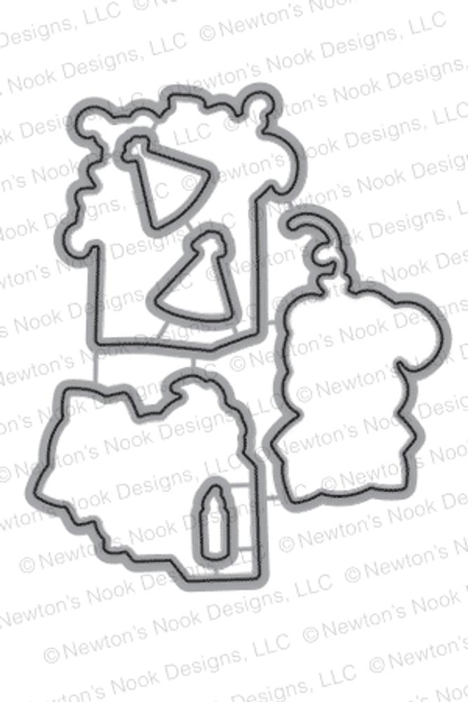 Newton's Birthday Bash | Die Set | Newton's Nook Designs