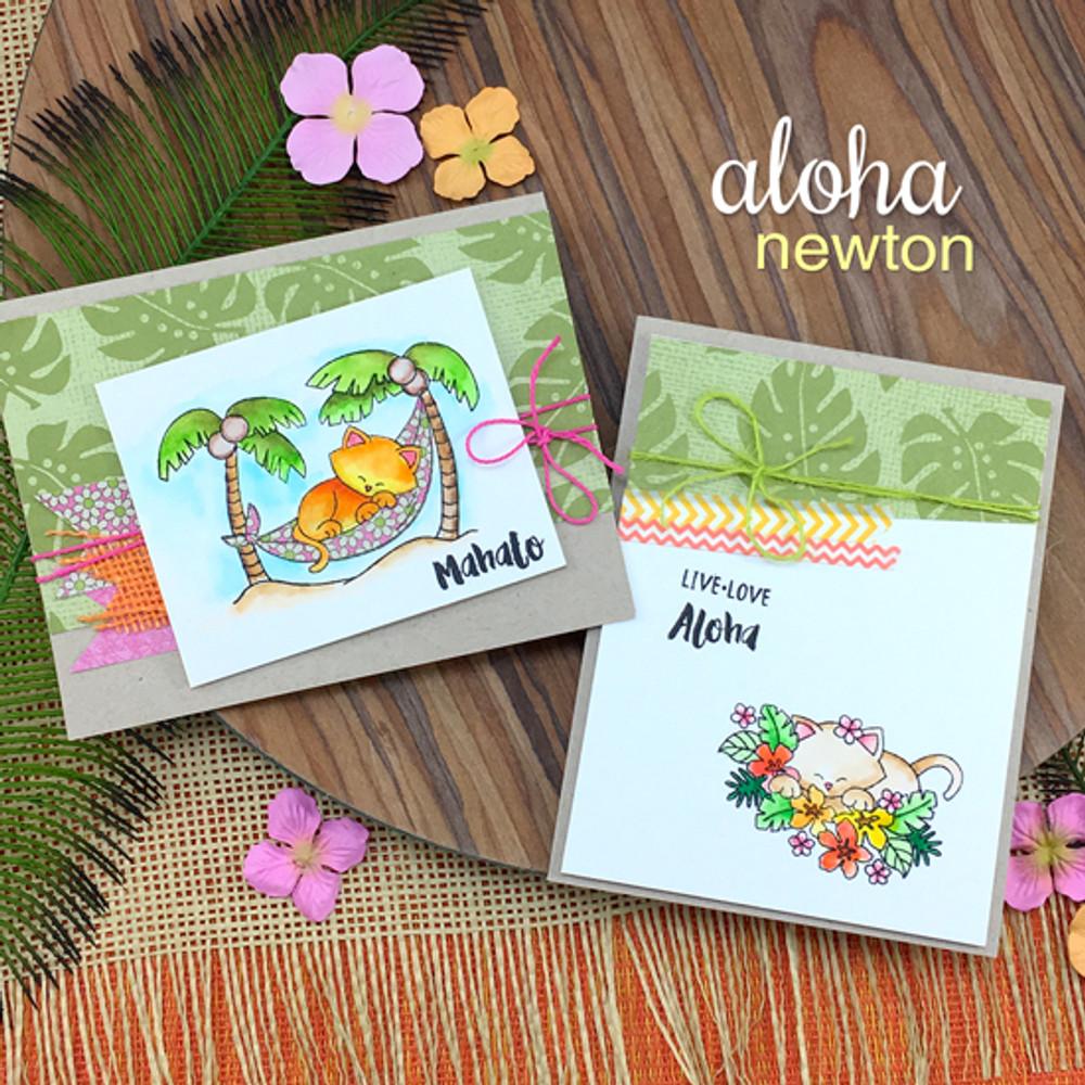 Aloha Newton Stamp Set by Newton's Nook Designs