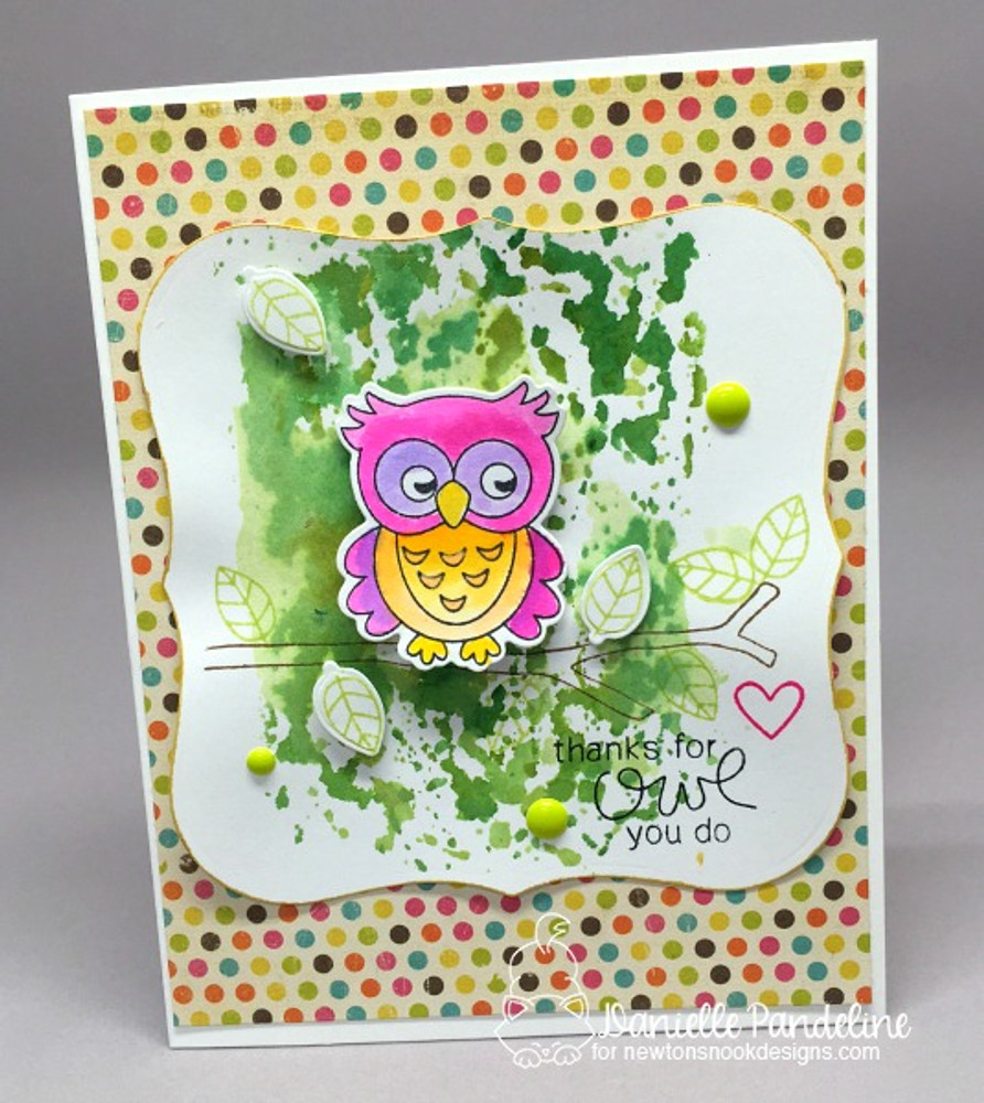 What a Hoot Stamp Set by Newton's Nook Designs