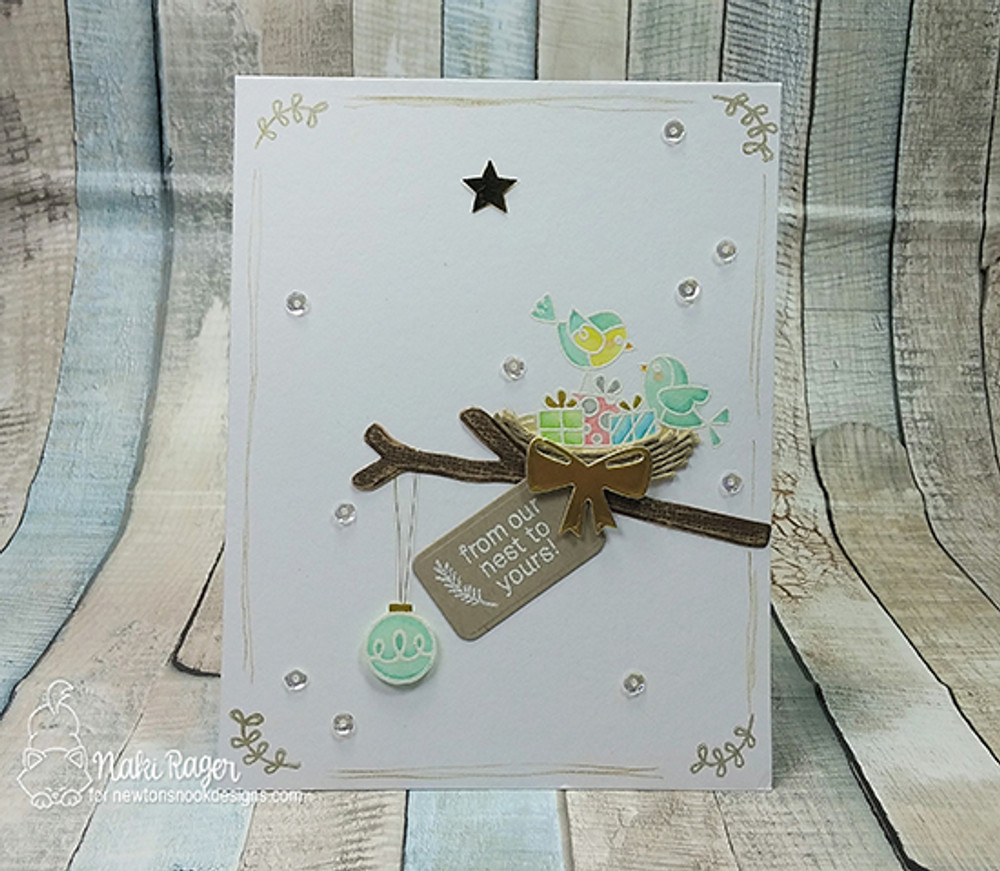 Holiday Tweets Stamp Set by Newton's Nook Designs