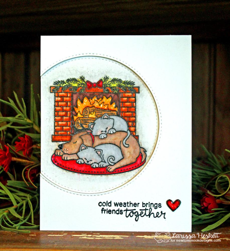 Fireside Friends Stamp Set by Newton's Nook Designs