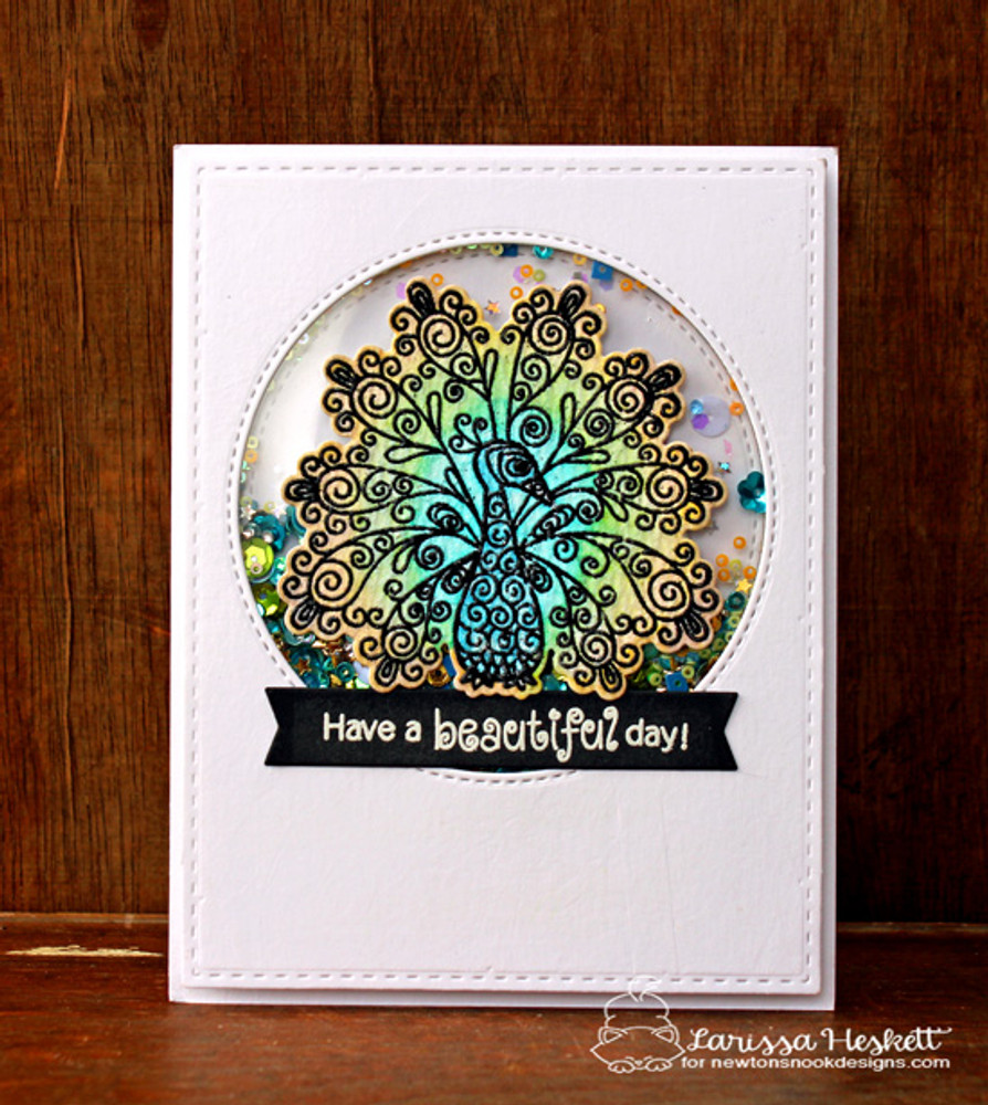 Beautiful Plumage Stamp Set by Newton's Nook Designs