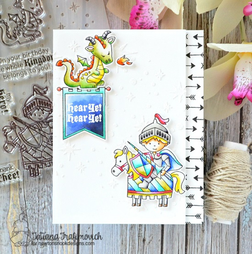 Knight's Quest Stamp Set by Newton's Nook Designs