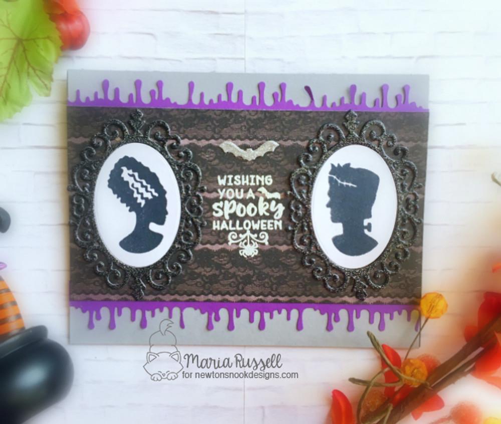 Creepy Cameos Stamp Set by Newton's Nook Designs