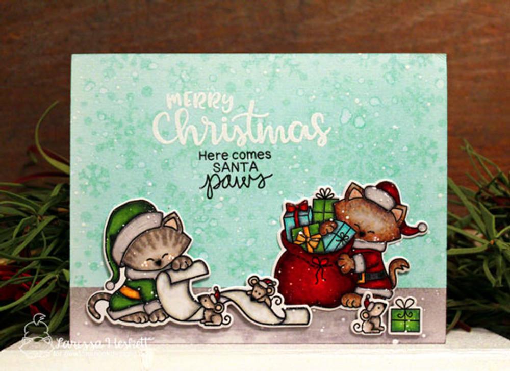 Santa Paws Newton Stamp Set ©2017 Newton's Nook Designs