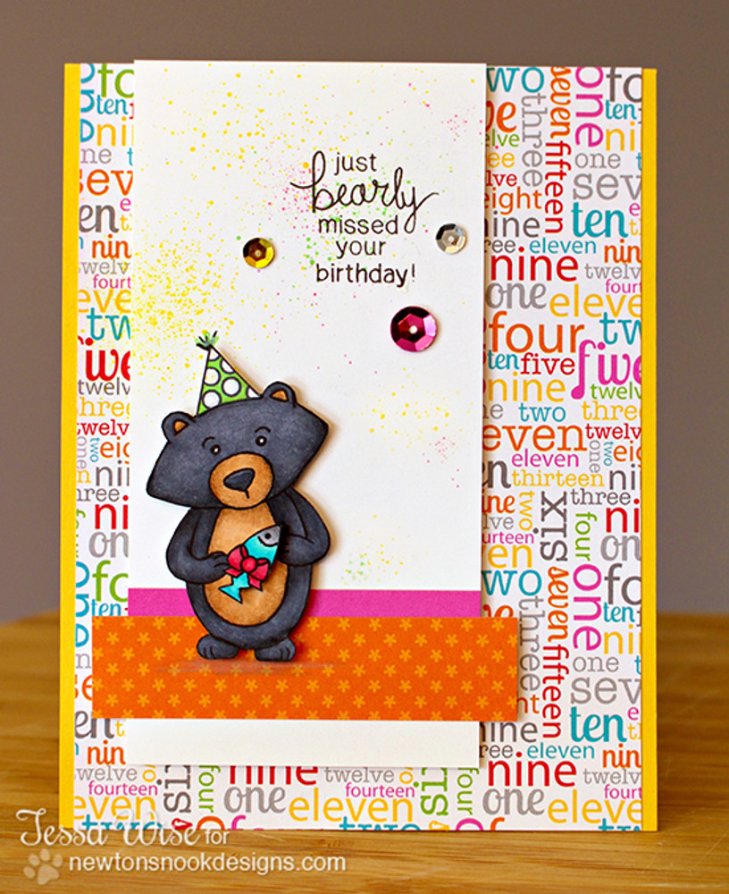"""Bearly"" missed your Birthday card  