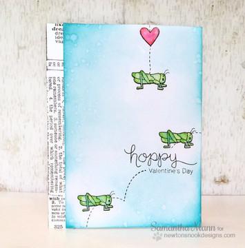 Hoppy Days | 4x6 Photopolymer Stamp Set | Newton's Nook Designs
