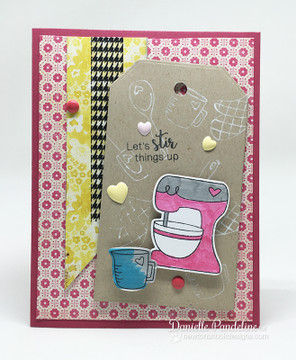 Made from Scratch | 4x6 Photopolymer Stamp Set | Newton's Nook Designs