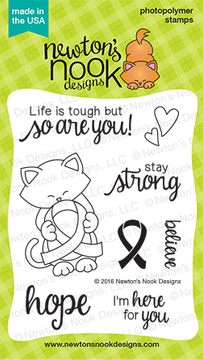 Newton's Support Stamp Set by Newton's Nook Designs