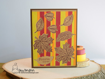 Beautiful Leaves Stamp Set by Newton's Nook Designs