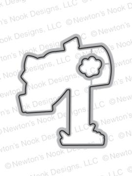 Newton's Happy Mail Die Set by Newton's Nook Designs