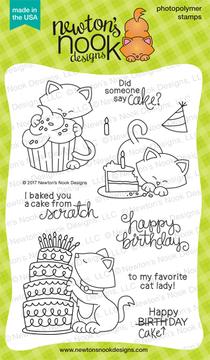 Newton Loves Cake Stamp Set by Newton's Nook Designs