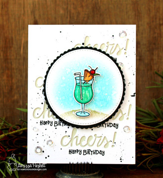 Cocktail Mixer Stamp Set by Newton's Nook Designs