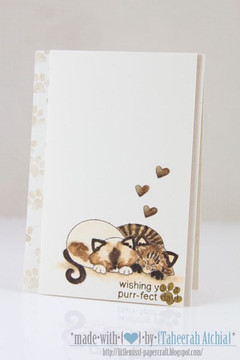 cute kitty couple  | Newton's Antics Stamp set by Newton's Nook Designs