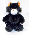 Wholesale Unstuffed Black Kitty Cat - Scaredy Cat