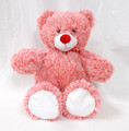 Wholesale Unstuffed Red White Bear - Holiday Bear - Valentine Teddy Bear