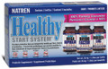 Natren Healthy Start System Tripack (Dairy) Probiotic Powders - 3 jars, 1.25 oz each (Canada)