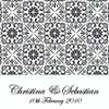 Black & White - Card Style Wedding Invitation