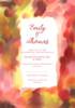Colours Wedding Invitation