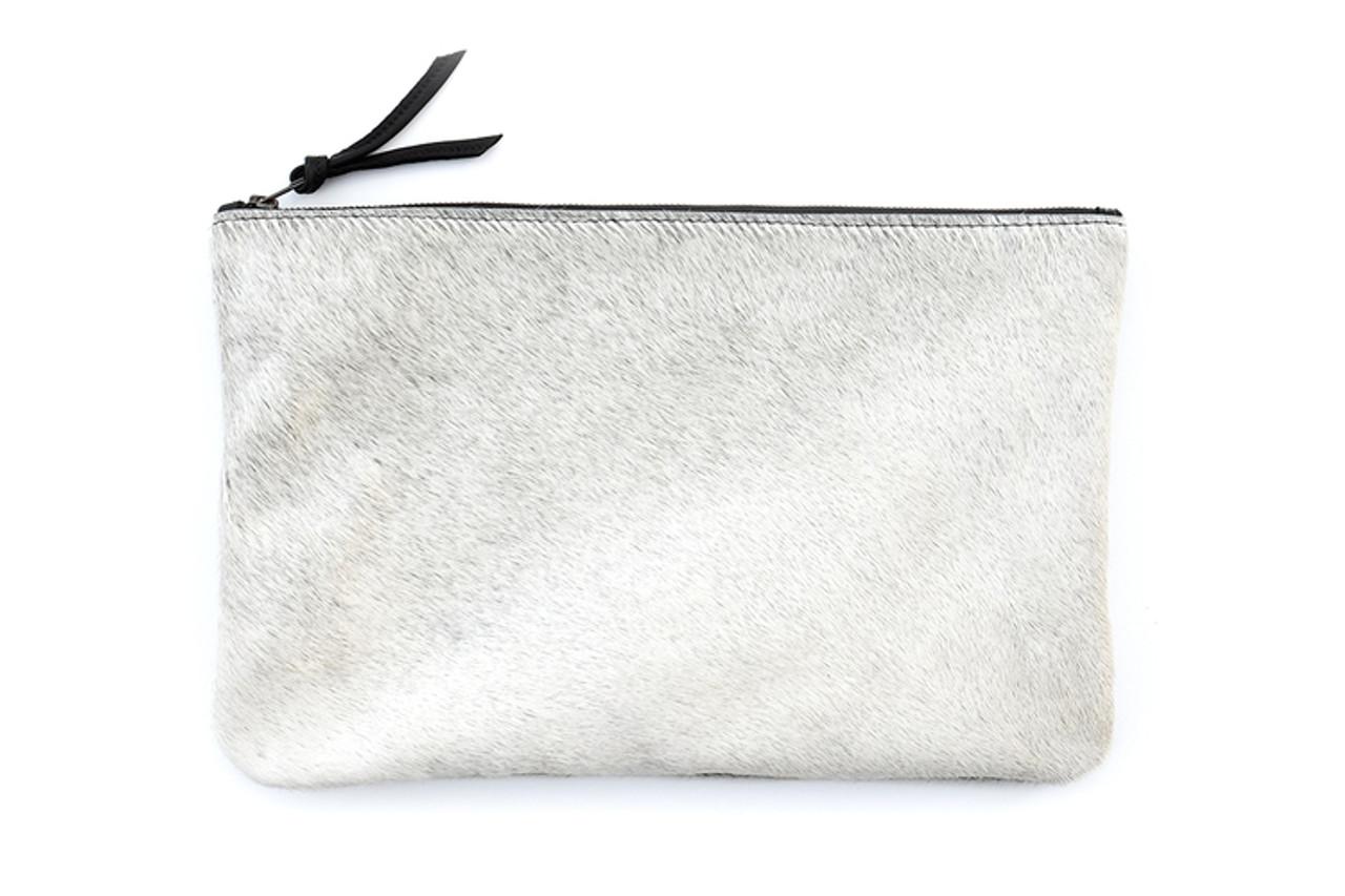 Light Grey Oversized Clutch