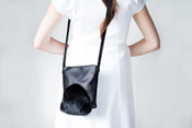 Black Rabbit Small Purse
