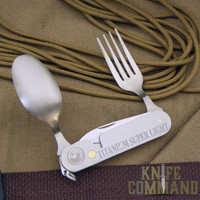 Knives of Alaska Titanium Utensil Set.  For fine, outdoor dining.