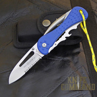 Fox Knives Sailing Knife with Marlin Spike and Multi Tool FX-235.  Not just a sailing/rigging knife.