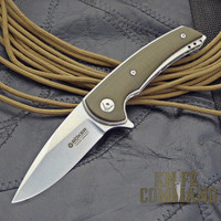 Boker Model 13 EDC Les Voorhies Ball Bearing Flipper Knife 110654.  Custom design and quality.