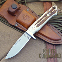 Knives of Alaska The Legacy Stag Hunting Knife.  Bob Loveless inspired hunter.