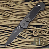 Eickhorn Solingen PRT VI Black Tactical Emergency Rescue Knife.  A police favorite!