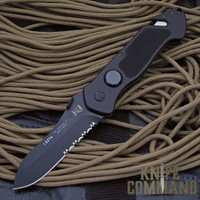 Eickhorn Solingen PRT VIII Black Tactical Emergency Rescue Knife.  The choice of professionals around the world.
