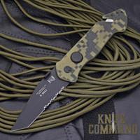 Eickhorn Solingen PRT X Digicam G10 Tanto Tactical Emergency Rescue Knife