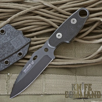 Fox Knives Compso Tactical Neck Knife.  Perfect for fixed blade daily carry.