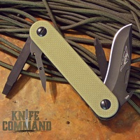 Emerson Knives EDC-2 Tan Multi Tool Knife.  American made, Swiss Army style.