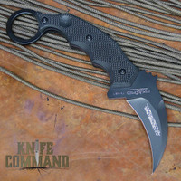 Fox Knives 636T Hanuman Karambit Fixed Blade Knife Black G10.  Fixed blade fighter.