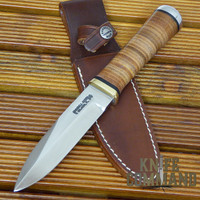 "Randall Made Knives Non-Catalog Model Gambler 5"" SS Knife.  Large Gambler!"