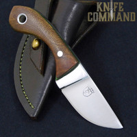 Paddy Smyth Knives Irish Elm Knife, The Leprechaun.  Handmade in Ireland.