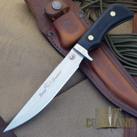 Knives of Alaska Boar Hunter Hunting Knife.  Long and lean.