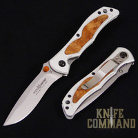 Fox Knives Bob Terzuola Amboina Burl Handle Pocket Knife T1RA.  Stunning and affordable.